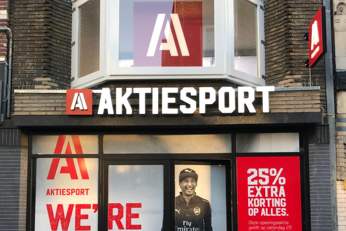 Aktiesport opent nieuwe winkel in centrum Utrecht
