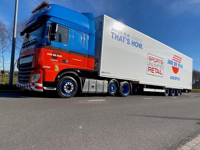 Jan de Rijk Logistics start winkellevering Sports Unlimited Retail